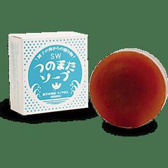 つのまたソープ(洗顔石けん)